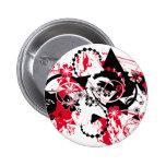 grunge stars pinback buttons