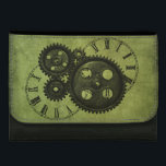 """Grunge Steampunk Clocks and Gears Wallet For Women<br><div class=""""desc"""">This is a beautiful grunge steampunk design features clocks and gears that makes the perfect gift.</div>"""