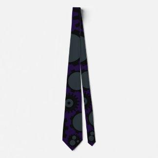 Grunge Steampunk Gears Tie