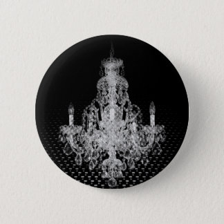 Grunge Steampunk Gothic Rustic Chandelier Button