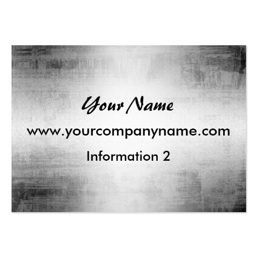 Grunge Steel Metal Look Business Cards Business Card