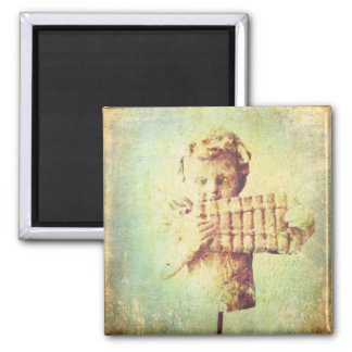 Grunge sting 2 inch square magnet