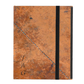 Grunge Stitched Leather iPad Case