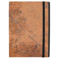Grunge Stitched Leather iPad Pro Case
