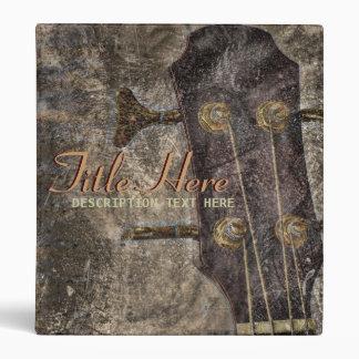 Grunge String Instrument Music Binder