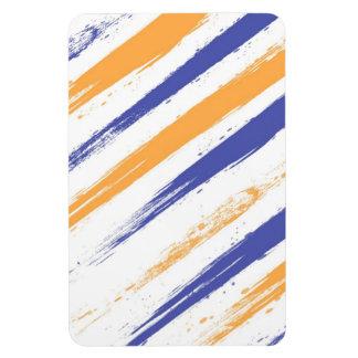 Grunge Stripe Magnet