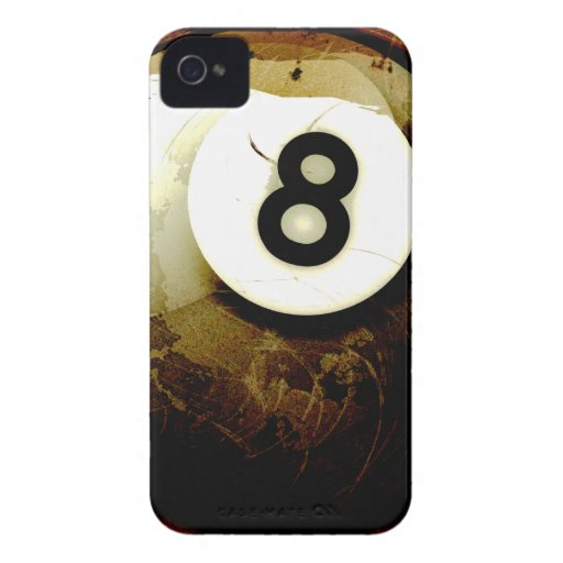 Grunge Style 8 Ball iPhone 4 Case-Mate Case