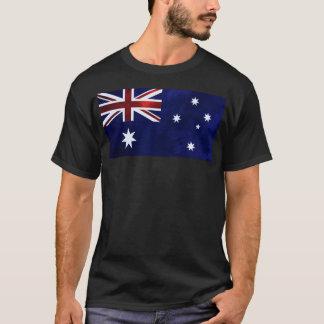 Grunge Style Australian Flag T-Shirt