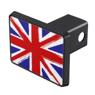 Grunge Style British Union Jack Flag Hitch Cover