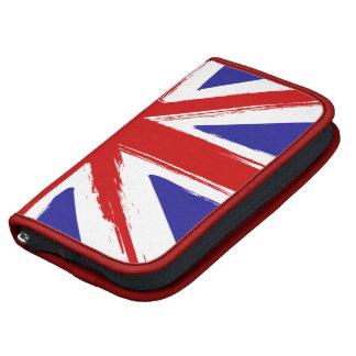 Grunge Style British Union Jack Flag Planner
