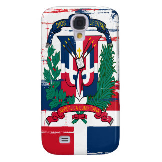 Grunge Style Dominican Republic Flag 3G/3GS Samsung S4 Case