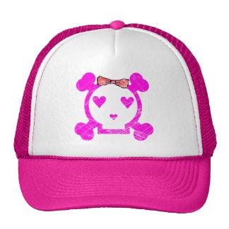 GRUNGE STYLE EMO GIRL SKULL HATS