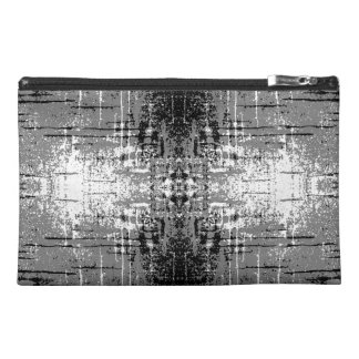 Grunge Style, Gray Abstract. Travel Accessory Bags