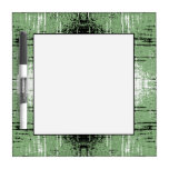 Grunge Style Green Abstract. Dry-Erase Boards