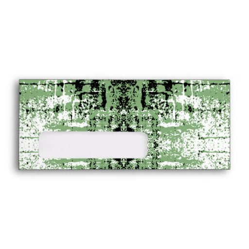 Grunge Style Green Abstract. Envelopes