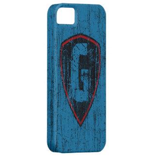 Grunge Style Monogram Letter G iPhone 5 Case