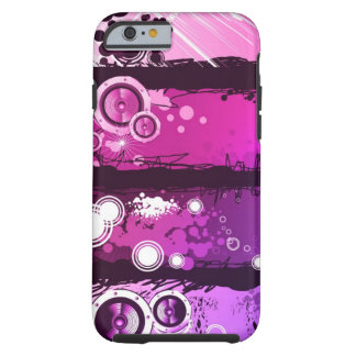 Grunge Style Music Banner 3 Tough iPhone 6 Case