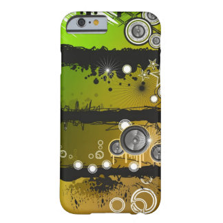 Grunge Style Music Banner Barely There iPhone 6 Case