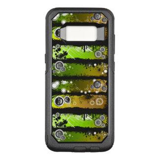 Grunge Style Music Banner OtterBox Commuter Samsung Galaxy S8 Case