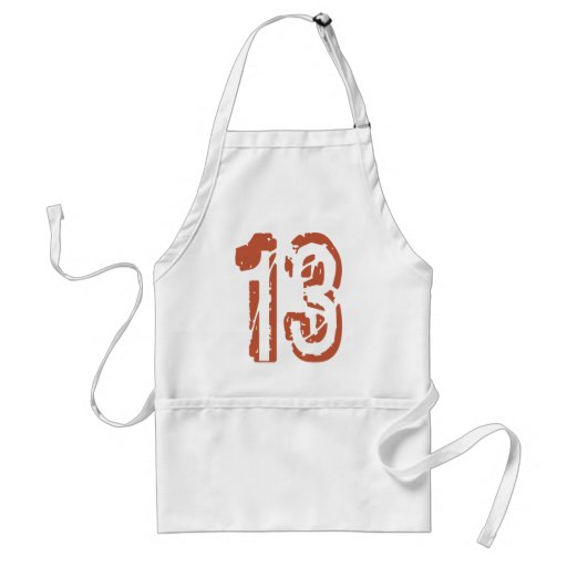 GRUNGE STYLE NUMBER 13 APRON