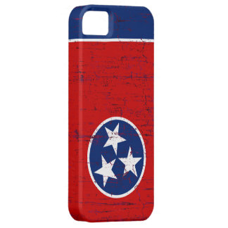 Grunge Style Tennessee Flag iPhone 5 Covers