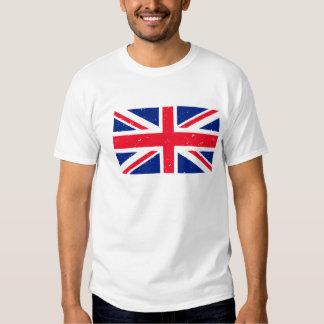 Grunge style Union Jack Tshirt