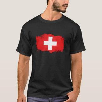 Grunge Switzerland Flag T-Shirt