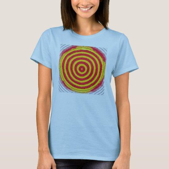 Grunge Target Design T-Shirt