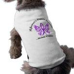 Grunge Tattoo Butterfly 6.1 Alzheimer's Disease Doggie T-shirt