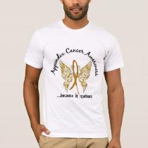 Grunge Tattoo Butterfly 6.1 Appendix Cancer T-Shirt
