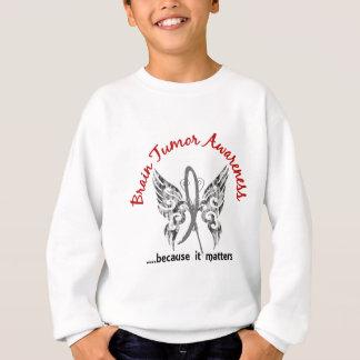 Grunge Tattoo Butterfly 6.1 Brain Tumor Sweatshirt