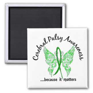 Grunge Tattoo Butterfly 6.1 Cerebral Palsy Magnets