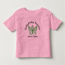 Grunge Tattoo Butterfly 6.1 Cerebral Palsy Toddler T-shirt