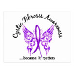 Grunge Tattoo Butterfly 6.1 Cystic Fibrosis Post Cards