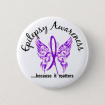 Grunge Tattoo Butterfly 6.1 Epilepsy Button