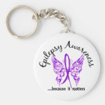 Grunge Tattoo Butterfly 6.1 Epilepsy Keychain