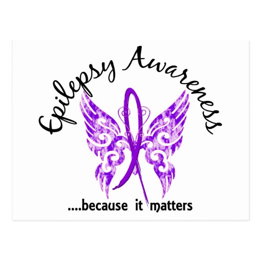 Grunge Tattoo Butterfly 6.1 Epilepsy Postcard