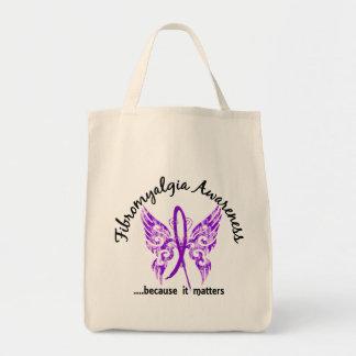 Grunge Tattoo Butterfly 6.1 Fibromyalgia Tote Bag