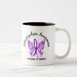 Grunge Tattoo Butterfly 6.1 Fibromyalgia Coffee Mugs