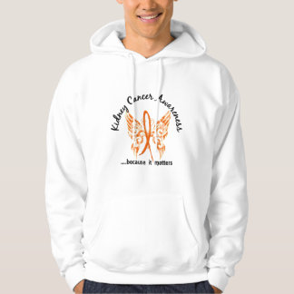 Grunge Tattoo Butterfly 6.1 Kidney Cancer Pullover