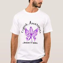 Grunge Tattoo Butterfly 6.1 Lupus T-Shirt