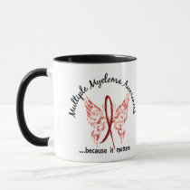 Grunge Tattoo Butterfly 6.1 Multiple Myeloma Mug