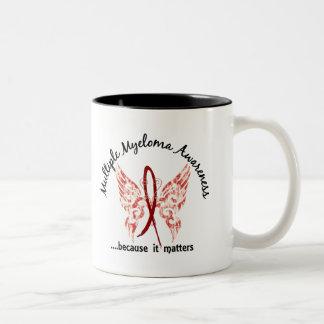 Grunge Tattoo Butterfly 6.1 Multiple Myeloma Coffee Mug