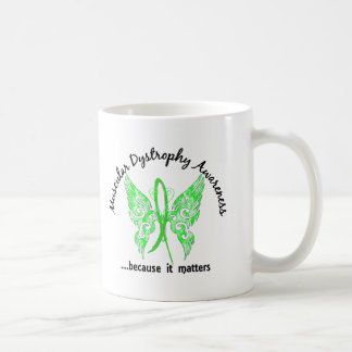 Grunge Tattoo Butterfly 6.1 Muscular Dystrophy Classic White Coffee Mug