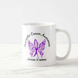 Grunge Tattoo Butterfly 6 1 Pancreatic Cancer Coffee Mugs