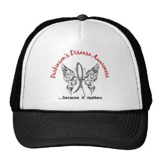 Grunge Tattoo Butterfly 6.1 Parkinson's Disease Trucker Hat