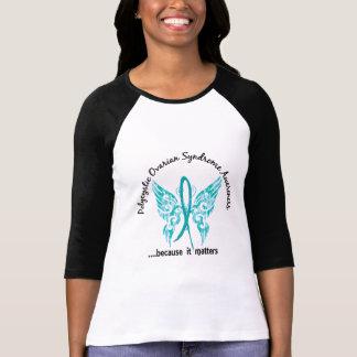 Grunge Tattoo Butterfly 6.1 PCOS T-shirt