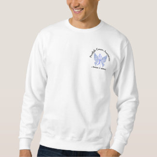 Grunge Tattoo Butterfly 6.1 Prostate Cancer Sweatshirt