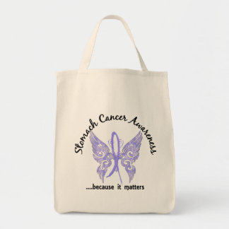 Grunge Tattoo Butterfly 6.1 Stomach Cancer Canvas Bags