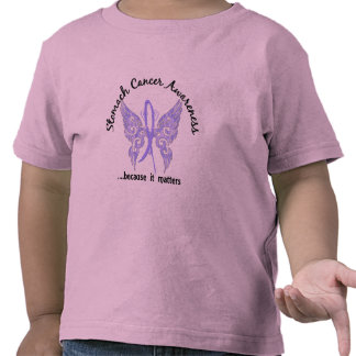 Grunge Tattoo Butterfly 6.1 Stomach Cancer T-shirts